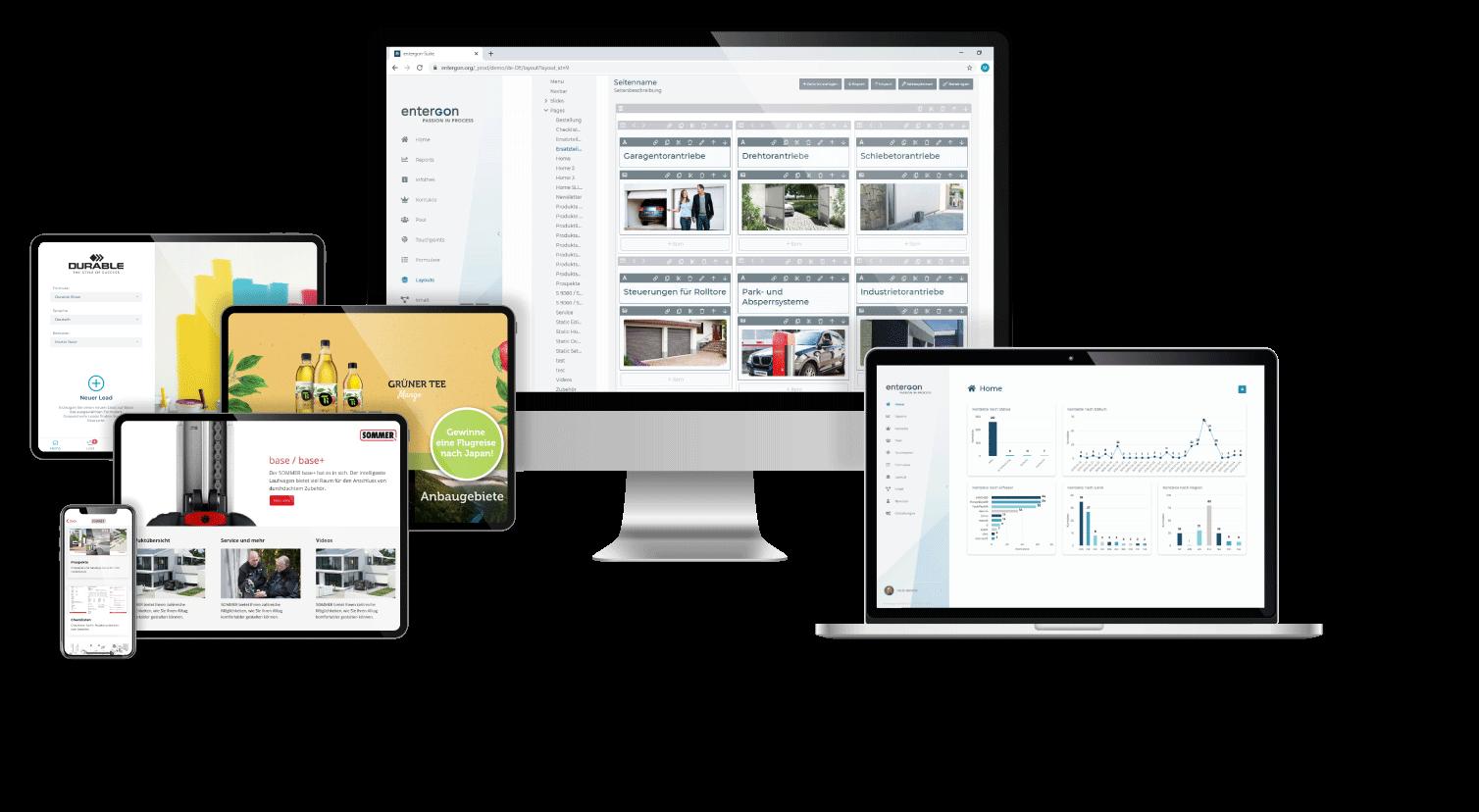 Multimedialer Content auf Tablets, Displays und Touchscreens